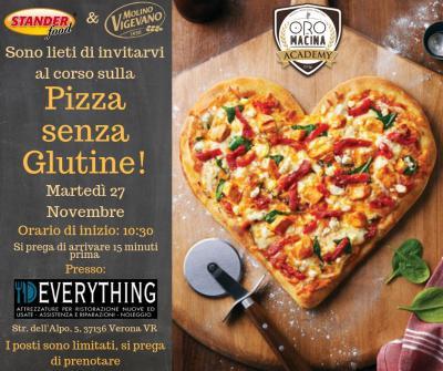 Corso di perfezionamento: La pizza senza glutine